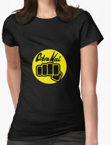 Cobra Kai T-shirt and Stickers  Womens Fitted T-Shirt
