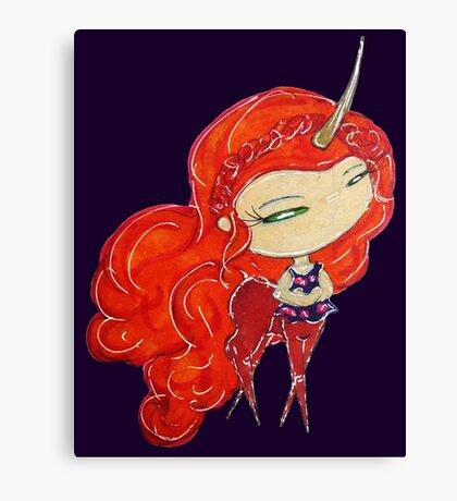 unicorn!lydia Canvas Print