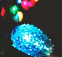 Christmas Lights III Sticker