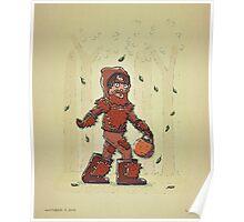 Bigfoot Trick or Treat Poster
