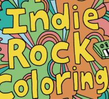 INDIE ROCK Sticker