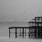 Brighton West Pier by AJM Photography