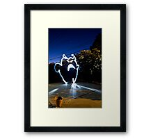 Creature of Light Framed Print