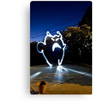 Creature of Light Canvas Print