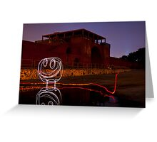 Reflection Coefficient Greeting Card