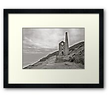 St Agnes Tin Mine Framed Print