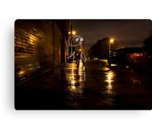 The Lights of Bayard Street Canvas Print