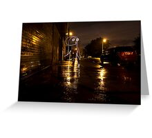The Lights of Bayard Street Greeting Card