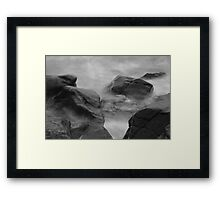 Smoke on the Water (4) Framed Print