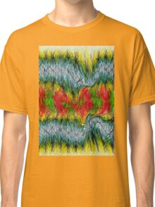 Fury abstract. Classic T-Shirt
