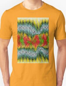Fury abstract. Unisex T-Shirt