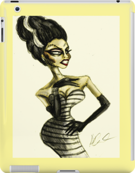 The Drag Bride of Frankenstein by missdaytripper