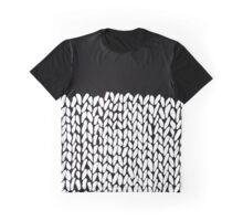 Half Knit Graphic T-Shirt
