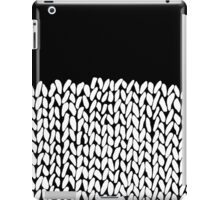 Half Knit iPad Case/Skin