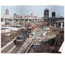 Urban Railroading Poster