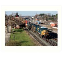CSX Stack Train Art Print