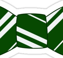 slytherin bow tie Sticker