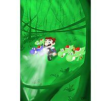 Super Jurassic Mario World Photographic Print