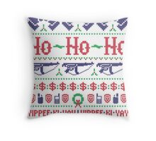 McClane Christmas Sweater Throw Pillow