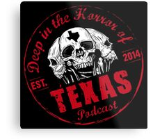 The Horror Stamp of Approval Metal Print