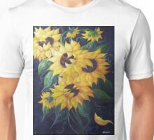 Dancing Sunflowers Unisex T-Shirt