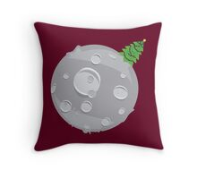Merry Christmas! --The Moon Throw Pillow