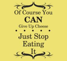 You Can Give Up Cheese by veganese