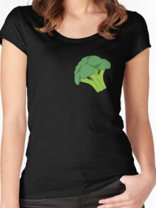 Broccoli Women's Fitted Scoop T-Shirt