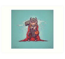 Thor Trick or Treat Art Print
