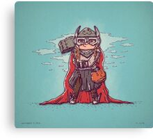 Thor Trick or Treat Canvas Print