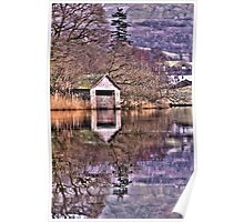 Rydal Water Boat House  Poster