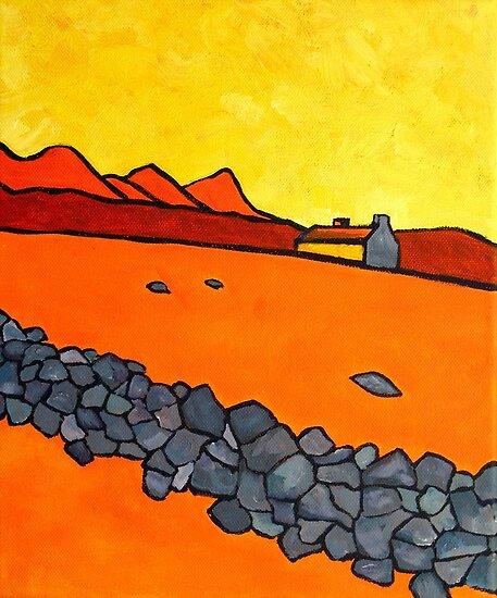 Stone Wall, No Sheep 3 by eolai
