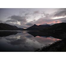 Ballachulish Bay Sunrise Photographic Print
