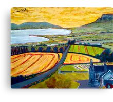Benevenagh & Lough Foyle, Ireland Canvas Print