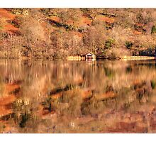 Boat House reflections Photographic Print