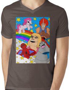 HEYAYAYAYEAH Mens V-Neck T-Shirt