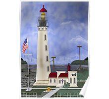 Home Port Lighthouse after Destruction Island Light Poster