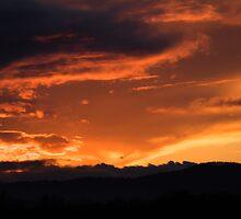 Western Sunset by Ian Middleton