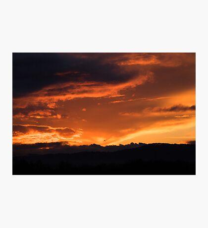 Western Sunset Photographic Print