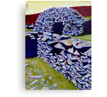 Beehive Hut Canvas Print