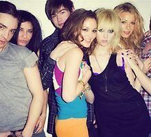 Gossip Girl Cast by alexandra721