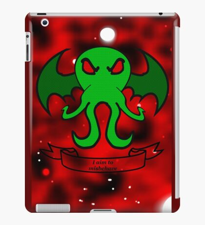 I Am To Misbehave 2.0 iPad Case/Skin