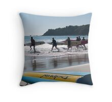 surf life savers Throw Pillow