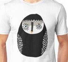 Blue Eyed Emo Owl Unisex T-Shirt