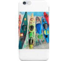 Kayaks on the Missouri River iPhone Case/Skin