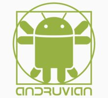 Vitruvian Droid (light green) by hardwear