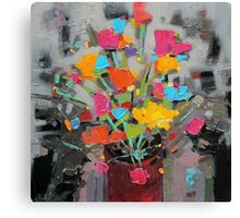 Bouquet of Colour Canvas Print