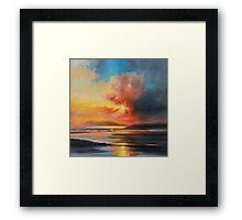 Emerging Sun Framed Print