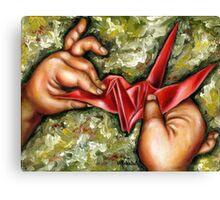 Origami Canvas Print
