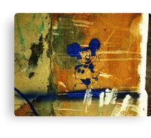 Mickey Says..... Canvas Print